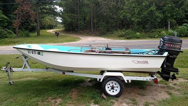 13' 1971 Boston Whaler Sport for Sale in Hartsville, South ...