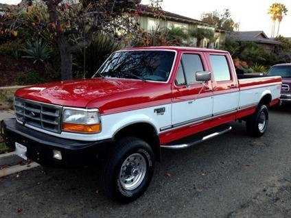 obo 1997 ford f350 4x4 for sale in san diego california classified. Black Bedroom Furniture Sets. Home Design Ideas