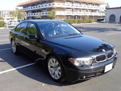 obo 2003 bmw 745i navigation w back up camera for sale in anaheim california classified. Black Bedroom Furniture Sets. Home Design Ideas