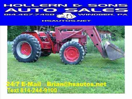 $13,500 Used 1982 INTERNATIONAL HARVESTER 784 4WD for
