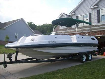 1996 25 Quot Chaparral Sunesta 250 Deck Boat For Sale In