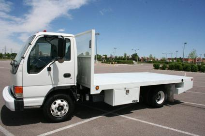 2004 isuzu npr flatbed truck diesel 97 200 miles for sale in denver colorado classified. Black Bedroom Furniture Sets. Home Design Ideas