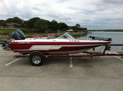 2006 skeeter sl 180 fish and ski boat for sale in fort for Fish and ski boats for sale