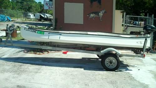13 39 api boat w 2 1 2 suzuki engine trailer for sale in fort pierce florida classified. Black Bedroom Furniture Sets. Home Design Ideas