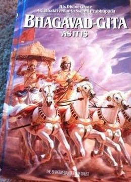 $13 Bhagavad-Gita As It Is Hard Cover