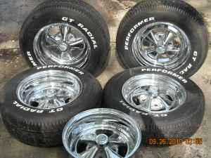 13 Quot Cragar Ss Wheels And Tires Turbotville For Sale In