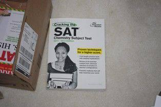 $13, SAT Chemistry Subject test book