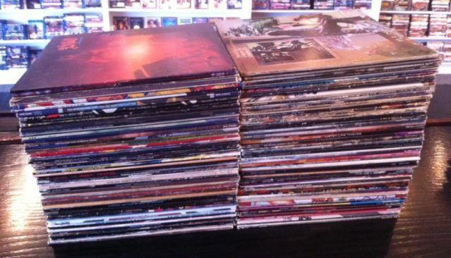 130+ vinyl lp records - mostly classic rock 70s 80s