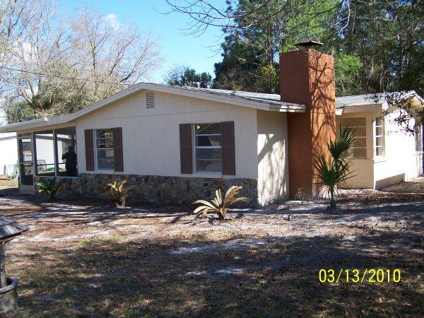 1300ft² - HOUSE in HOMOSASSA FLA. Trade for Cabin or