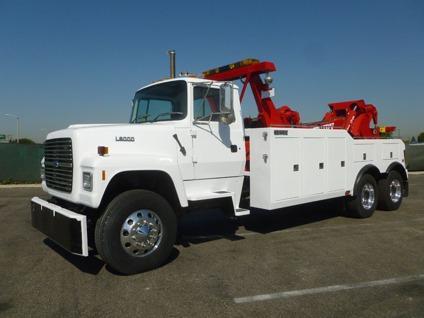 $132,500 1996 Ford L9000 Century 9055 50 Ton Wrecker