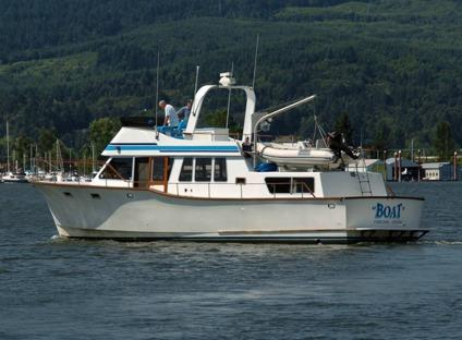 1981 West Port Yacht Luxury Offshore Motor Yacht 48 Ft