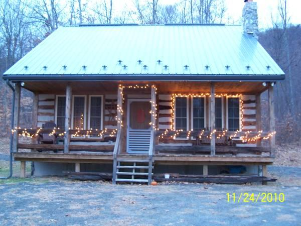 2br Nice Log Cabin For Sale In Sligo Pennsylvania