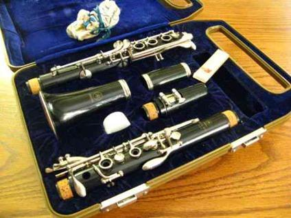 Beautiful yamaha ycl 24 clarinet with case for sale in for Yamaha trombone case