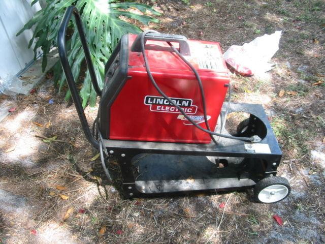 135 mig Lincoln electric welder with cart