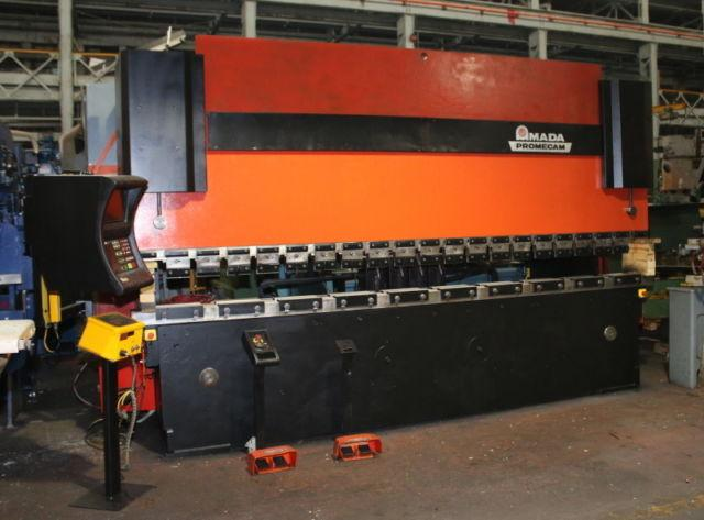 138 TON AMADA HFBO 125-40 4-AXIS CNC PRESS BRAKE