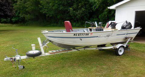 14' 1995 Sea Nymph 14