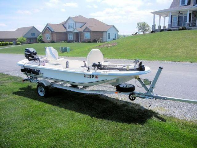14 2010 Carolina Skiff JV 15 SS for Sale in Aqua