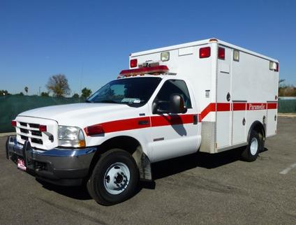 Travel Trailers For Sale In Pa >> 2004 Ford F350 4x4 Ambulance Paramedic Truck for Sale in ...