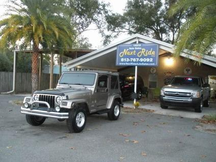 $14,500 OBO Perfect 2004 Jeep Wrangler Sahara Auto 4x4,