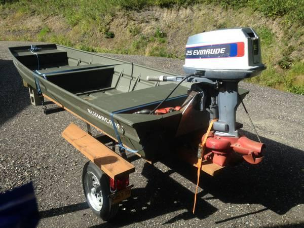 14 39 alumacraft 25 hp evinrude jet with trailer for sale for 10 hp outboard jet motor