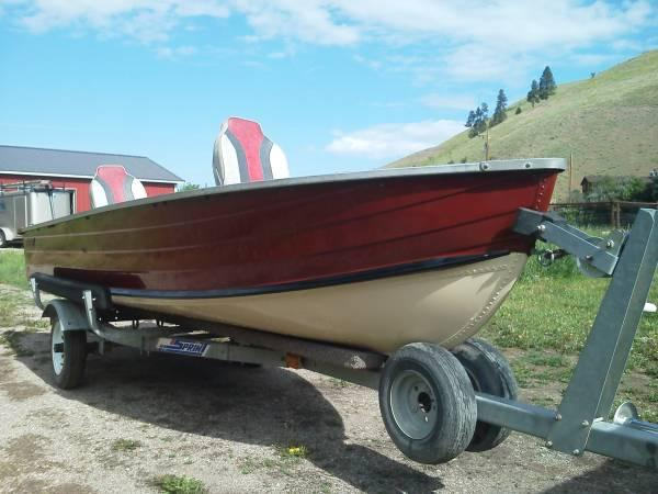 14 39 aluminum fishing boat for sale in missoula montana for Best aluminum fishing boat for the money