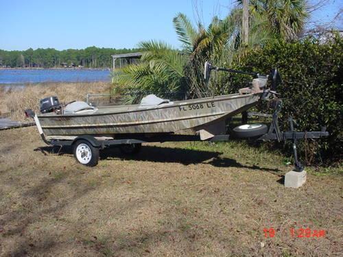 14' aluminum jon boat