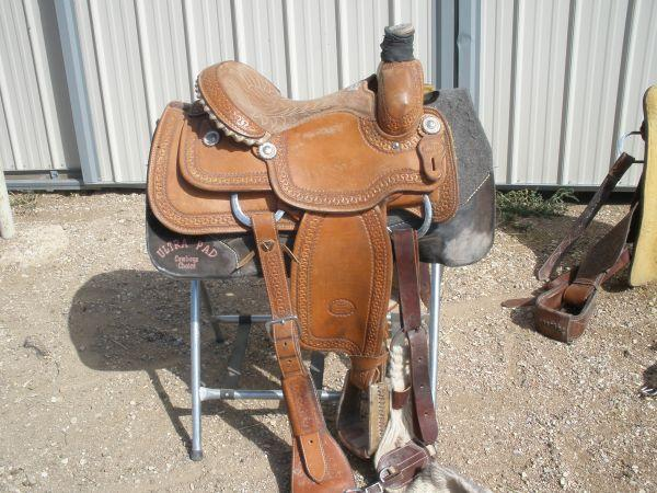 14 Quot Billy Cook Roping Saddle Pueblo West Co For Sale