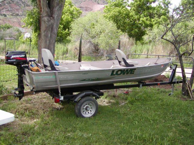 2001 Sea Nymph V series 14 foot Aluminum Fishing Boat! Trailer & Motor