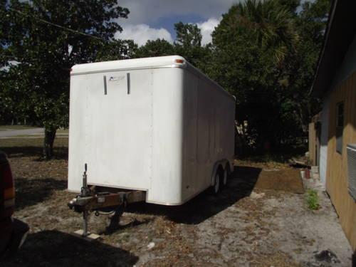 14 FOOT ENCLOSED CARGO TRAILER