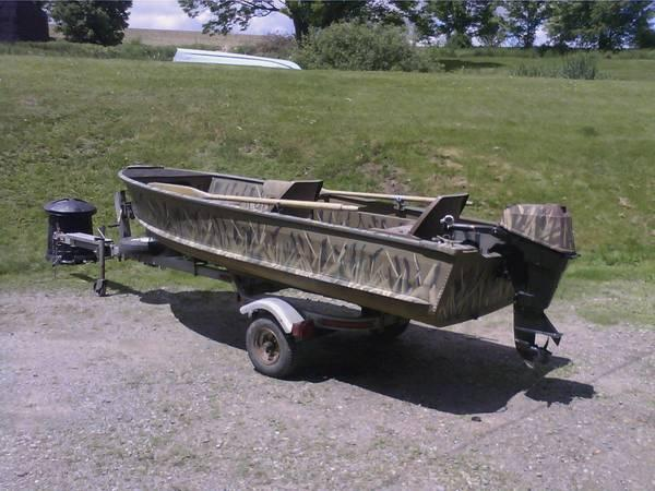 14 foot gamefisher boat 15 hp for sale in whitney point new york classified. Black Bedroom Furniture Sets. Home Design Ideas