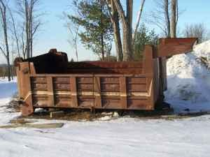 14 Foot Telescoping Dump Body - $2500 (Winchendon MA)