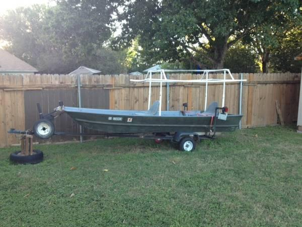 14 Ft Aluminum Boat 5hp Briggs Stratton Motor For