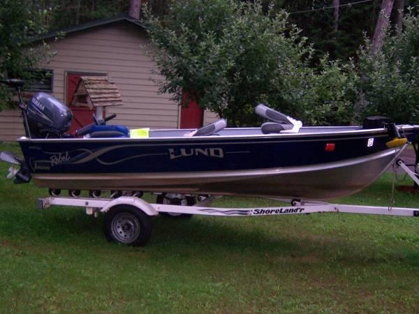 14 ft. Lund Boat w/trailer - for Sale in Saint Germain, Wisconsin Classified | AmericanListed.com