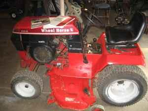 14 hp wheel horse 414-8 - $650 (arcadia)