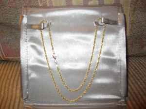 14 K Gold necklace - $75 (Janesville)