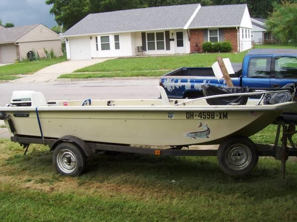 14 39 sears fishing boat for sale in xenia ohio for Fishing boats for sale in ohio