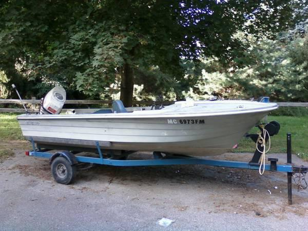14 39 starcraft boat with 40hp johnson outboard for sale for Outboard motors for sale in michigan