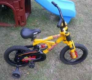 14 Quot Tonka Mighty Bike W Training Wheels Newberry For