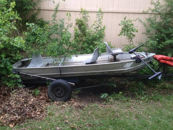 14 aluminum boat bottom v