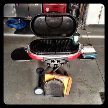 $140 OBO COLEMAN ROADTRIP Camping GRILL LXE  STOVE