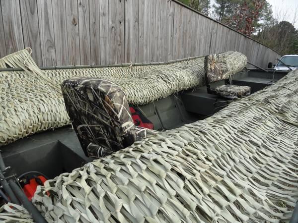 Jon Boat Layout Jon Boat Duck Blinds