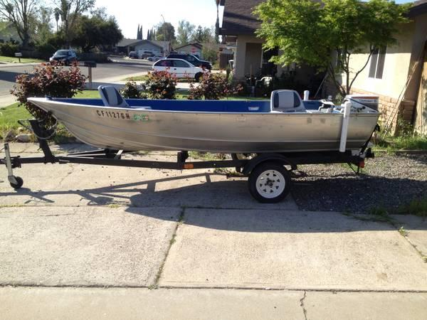 14ft aluminum fishing boat for sale in rossville for Best aluminum fishing boat for the money
