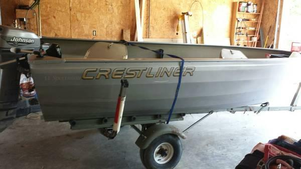 14ft Crestliner Sportsman For Sale In Princeton