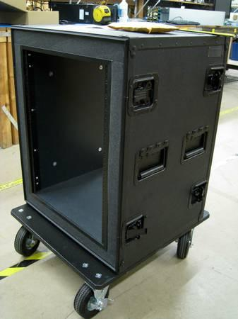 14U moving stand for computer gear - Anvil Case - $600