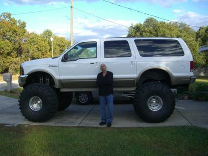 4 wheel drive monster 2000 ford excursion v10 48 tires. Black Bedroom Furniture Sets. Home Design Ideas
