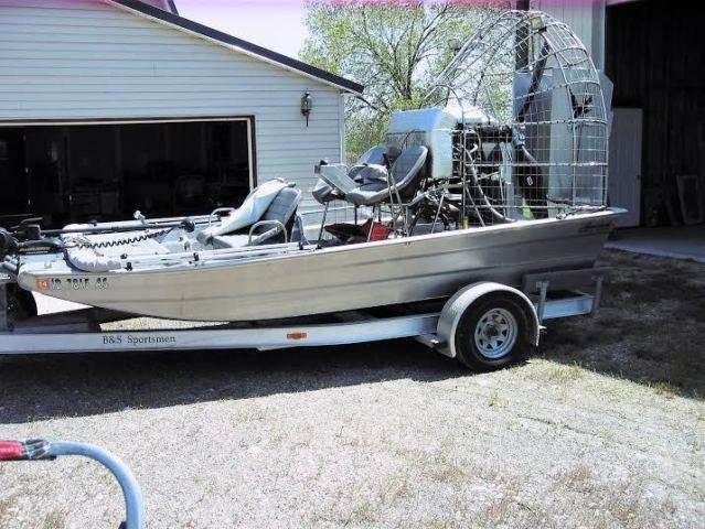 15' 2005 Alumatech Airboat