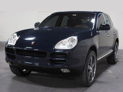 2004 porsche cayenne s 04 porsche cayenne navy blue w 22 rims 4 sale for sale in hollywood. Black Bedroom Furniture Sets. Home Design Ideas