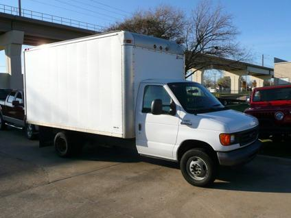 2007 ford e350 cutaway cargo van 14 ft box truck for sale 70k miles for sale in dallas texas. Black Bedroom Furniture Sets. Home Design Ideas
