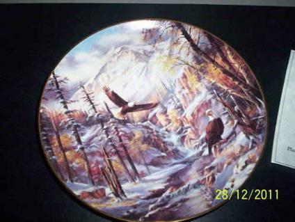 $15 Danbury Mint ICE-CAPPED MAJESTY Rudi Reichardt