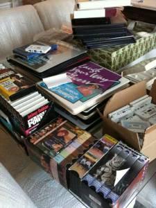 $15 for All. Books on Tape VCR  Cassette - Health, Self-help etc - $15 Lexington Hartland